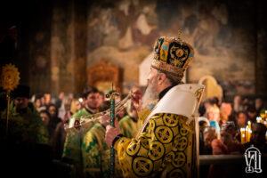 Блаженніший Митрополит Онуфрій очолив всенічне бдіння напередодні Собору преподобних Києво-Печерських
