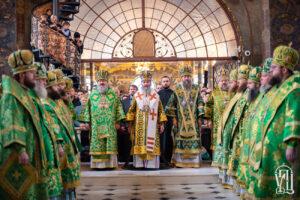 Предстоятель очолив Божественну літургію у день Собору всіх преподобних Києво-Печерських