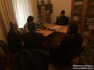 Керуючий Ніжинською єпархією повідомив представникам ОБСЄ про порушення прав віруючих у регіоні