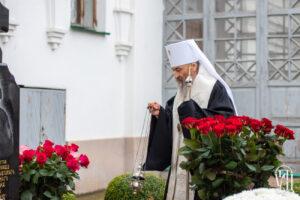 Предстоятель совершил панихиду в годовщину смерти настоятельницы Флоровского монастыря