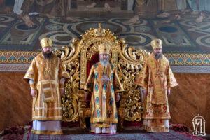 Блаженнейший Митрополит Онуфрий возглавил Божественную литургию в день престольного праздника Покровского монастыря (+фото)