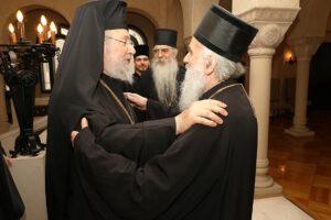 Предстоятель Кипрской Церкви провел встречу с Предстоятелем и членами Синода Сербской Церкви