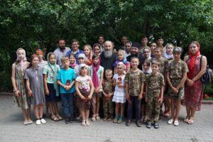 Блаженніший Митрополит Онуфрій зустрівся з вихованцями спортивного клубу з Вінниччини