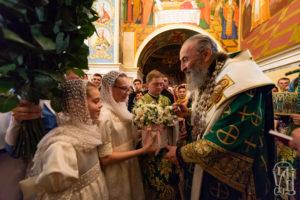 Блаженнейший Митрополит Онуфрий совершил всенощное бдение в канун дня памяти преподобного Онуфрия Великого