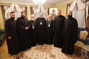 Блаженнейший Митрополит Онуфрий принял делегации Поместных Церквей