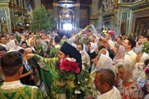 Свято Святої Трійці в Києво-Печерській, Почаївській і Святогірській Лаврах — фоторепортаж