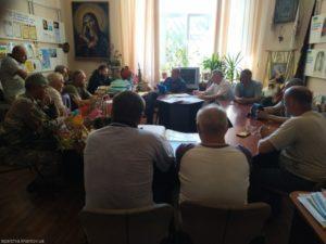 У Харкові, за участю глави єпархіального відділу у справах козацтва, обговорили питання популяризації козацтва