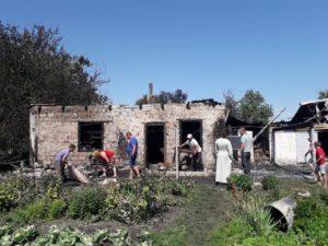 У багатодітного священика на Київщині згорів будинок — потрібна допомога (реквізити)