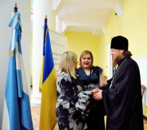 Архиепископ Боярский Феодосий принял участие в приеме посольства Республики Аргентина
