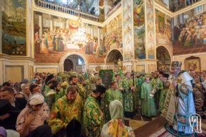 Блаженніший Митрополит Онуфрій очолив всенічне бдіння напередодні дня пам'яті преподобного Антонія Печерського
