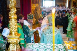Блаженнейший Митрополит Онуфрий принял участие в торжествах в Троице-Сергиевой Лавре
