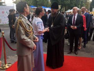 Архиепископ Боярский Феодосий принял участие в приеме посольства Франции