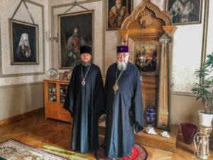 В Варшаве состоялась встреча главы Представительства УПЦ при международных организациях с Предстоятелем Польской Православной Церкви