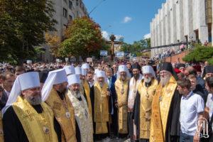 В УПЦ поблагодарили греческое духовенство и мирян за поддержку