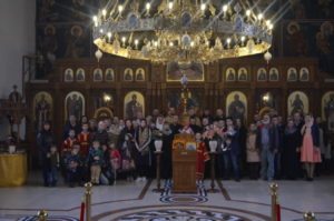 Українська парафія в Гамбурзі відсвяткувала своє престольне свято