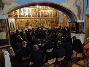Связи Почаевской Лавры и Афона обсудили в Почаевской семинарии