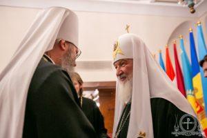 Керуючий справами УПЦ взяв участь у богослужінні з нагоди ювілею чернечого постригу Святішого Патріарха Кирила (+відео)