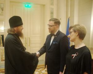 Архиепископ Боярский Феодосий принял участие в приеме посольства Республики Польша