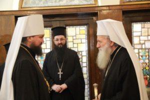 Митрополит Житомирский Никодим встретился с Патриархом Болгарским Неофитом
