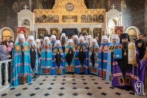 Блаженнейший Митрополит Онуфрий возглавил Божественную литургию и епископскую хиротонию в Киево-Печерской Лавре (+видео)