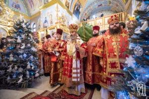 Блаженнейший Митрополит Онуфрий возглавил престольный праздник в Свято-Анастасиевском монастыре с. Ковалевка