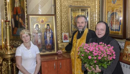 Вірянка Вінниці в подяку за диво Боже подарувала храму УПЦ ікону