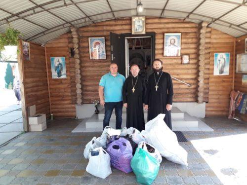 Погорільцям Житомирщини доставлено допомогу від парафіян Київської єпархії