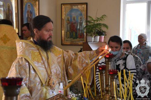 Митрополит Никодим освятив храм у селі Рея на Житомирщині