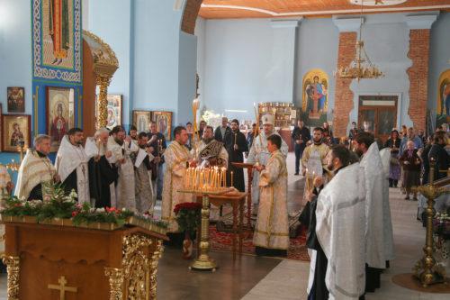 Управляющий Изюмской епархией УПЦ совершил панихиду по погибшим в авиакатастрофе близ города Чугуева