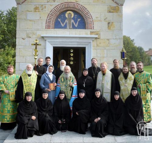 Блаженніший Митрополит Онуфрій освятив храм на честь преподобного Онуфрія Великого у Вільшанському монастирі