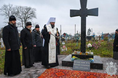 В єпархіях Української Православної Церкви вшанували пам'ять жертв Голодоморів