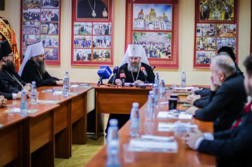 У Київських духовних школах відбувся круглий стіл, присвячений 85-ій річниці з Дня народження Блаженнішого Митрополита Володимира