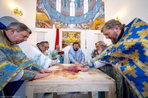 Митрополит Онуфрий совершил Великое освящение храма в честь Преображения Господня в Харькове