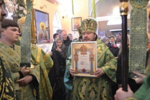 Братія і парафіяни севастопольського монастиря у день ювілею отримали нагороди від Предстоятеля УПЦ
