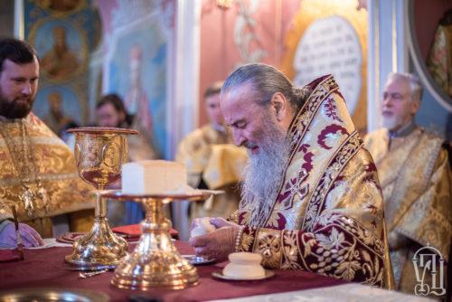 Блаженніший Митрополит Онуфрій звершив святкове богослужіння у день Обрізання Господнього у Києво-Печерській Лаврі (+відео)