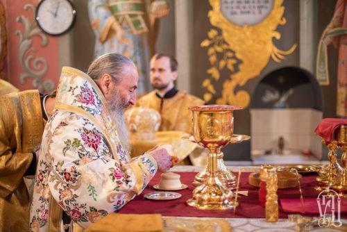 У Неділю після Богоявлення Блаженніший Митрополит Онуфрій очолив Божественну літургію у Києво-Печерській Лаврі (+відео)
