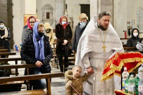 Священнослужитель УПЦ в Італії звершив першу Літургію для новоствореної громади в регіоні Тоскана