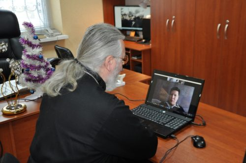 Ієрарх Дніпропетровської єпархії провів робочу зустріч з представниками ОБСЄ