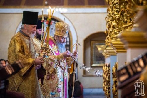 У Неділю про блудного сина Предстоятель очолив Божественну літургію у Києво-Печерській Лаврі (+відео)