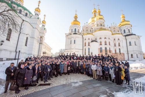У Києво-Печерській Лаврі відбувся з'їзд представників захоплених храмів Української Православної Церкви (+відео)