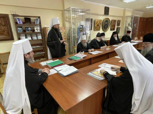 У Києво-Печерській Лаврі відбулося засідання Комісії з канонізації святих
