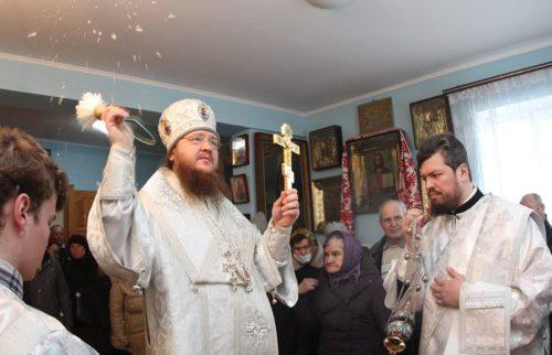 Архієпископ Черкаський Феодосій звершив освячення храму на честь рівноапостольного князя Володимира