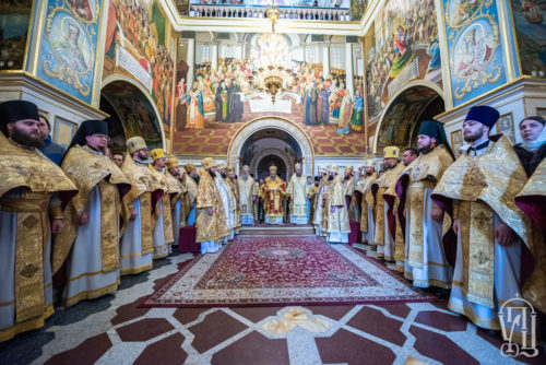 У Неділю про Страшний суд Блаженніший Митрополит Онуфрій звершив Божественну літургію у Києво-Печерській Лаврі (+відео)