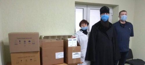 В єпархіях Української Православної Церкви надали чергову допомогу лікарням, людям похилого віку, інвалідам