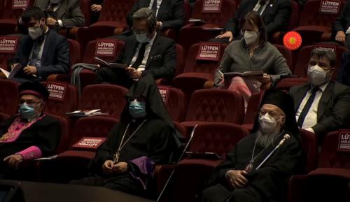 Глава Фанару відвідав виступ Президента Туреччини про заходи щодо захисту прав людини, зокрема, релігійних меншин