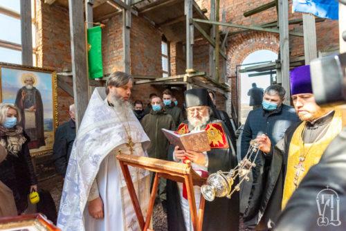 У Межигір'ї відроджують старовинний Спасо-Преображенський монастир, зруйнований у XX ст.