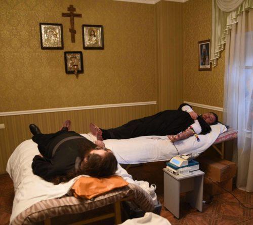 Более 50 священников и мирян Запорожской епархии УПЦ сдали кровь для больных детей