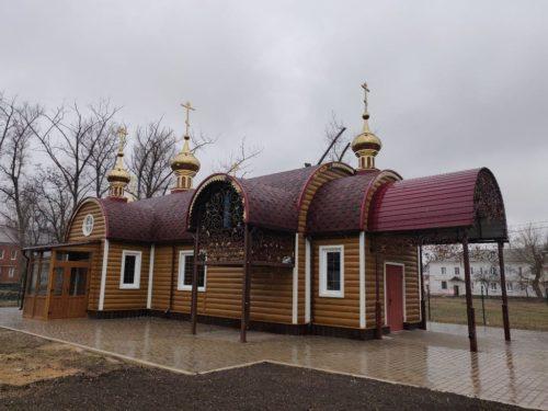 У Донецьку звершили перше богослужіння у новому храмі