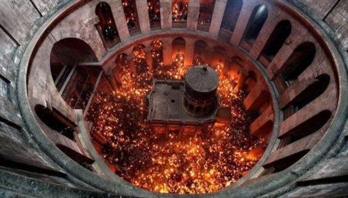 Сходження Благодатного вогню в Єрусалимі транслюватиметься у прямому ефірі на «Інтері»