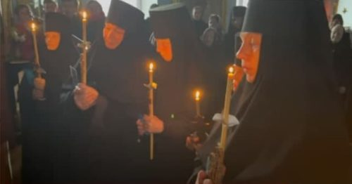 Митрополит Одеський Агафангел звершив чернечі та іночеські постриги в Архангело-Михайлівському жіночому монастирі
